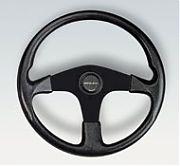 Uflex Corse Steering Wheel - Black