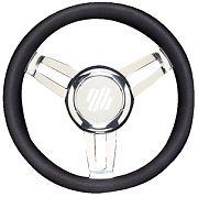 "Uflex FOSCARIVCHB 13.8"" Black Foscari Steering Wheel"