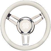 "Uflex FOSCARIVCHW 13.8"" White Foscari Steering Wheel"