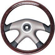 """Uflex LAMPEDUSA 14.1"""" Mahogany Steering Wheel"""