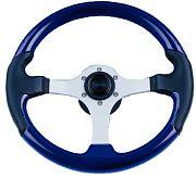 "Uflex SPARGIBLS 13.8"" Blue Spargi Steering Wheel"