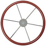 "Vetus KW35 21-5/8"" Mahogany Rim Steering Wheel"