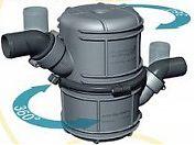 """Vetus NLP45 1-3/4"""" Revolving Waterlock Muffler"""