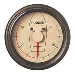Vetus RPI1810W Rudder Position Indicator with White Face