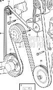 Volvo Penta 3586327 Drive Belt