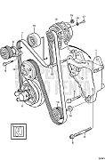 Volvo Penta 3861501 Drive Belt