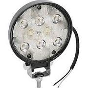 Wesbar 54209001 White Round LED Exterior Work Lamp