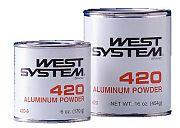 West System 42036 West Aluminum Powder - 36oz.