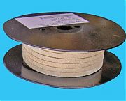 "Western Pacific 10104 Teflon Flax Packing - 3/8"" X 15´"