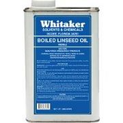 Whitaker 761714 Linseed Oil Quart