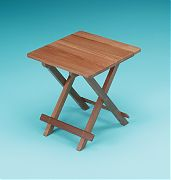 WhiteCap 60031 Teak Solid Top Fold Away Table