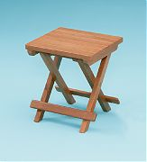 WhiteCap 60034 Teak Groove Top Fold Away Table