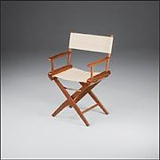 WhiteCap 60044 Teak Director´s Chair with Natural Seat Covers