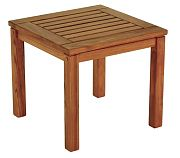 WhiteCap 60053 Teak Square Side Table