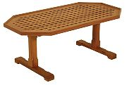 WhiteCap 60058 Teak Coffee Grate Table