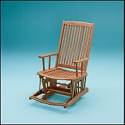 WhiteCap 60097 Teak Glider Chair