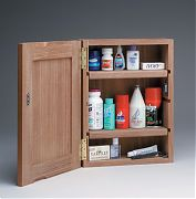 WhiteCap 62354 Teak Medicine Chest