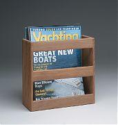 WhiteCap 62504 Teak Magazine/Utility Rack