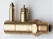 "WhiteCap F7060 Yamaha Fuel Fitting NPT Brass Male 1/4"""