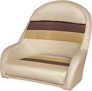 Wise 8WD120LS1010 Pontoon Cap Chair Sand/Cn/Gold