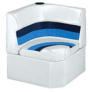 Wise 8WD1331008 Radius Corner Section - White/Navy/Blue