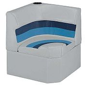 Wise 8WD1331011 Radius Corner Section - Gray/Navy/Blue