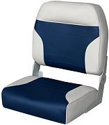 Wise 8WD589PLS660 Big Man Fold Down Fishing Seats, Grey/Blue