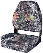 Wise 8WD617PLS763 Camouflage High-Back Fold-Down Seat