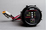 "Xintex G-1B Gas Fume Detector 2"" Flush Mount Black"