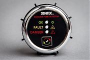 "Xintex G-1C Gas Fume Detector 2"" Flush Mount Chrome"