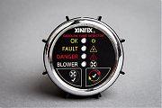"Xintex G-1CB Gas Detector 2"" Flush Mount Chrome Blower Cont"