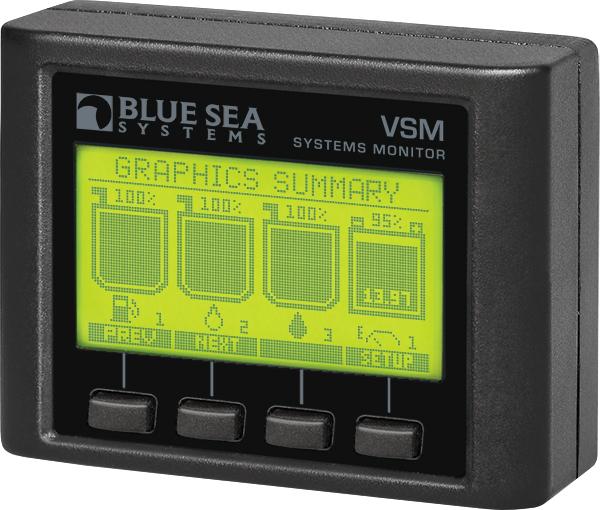 Blue Sea Systems Boat Marine Green LED Indicator Light 12//24 Volt DC 8172