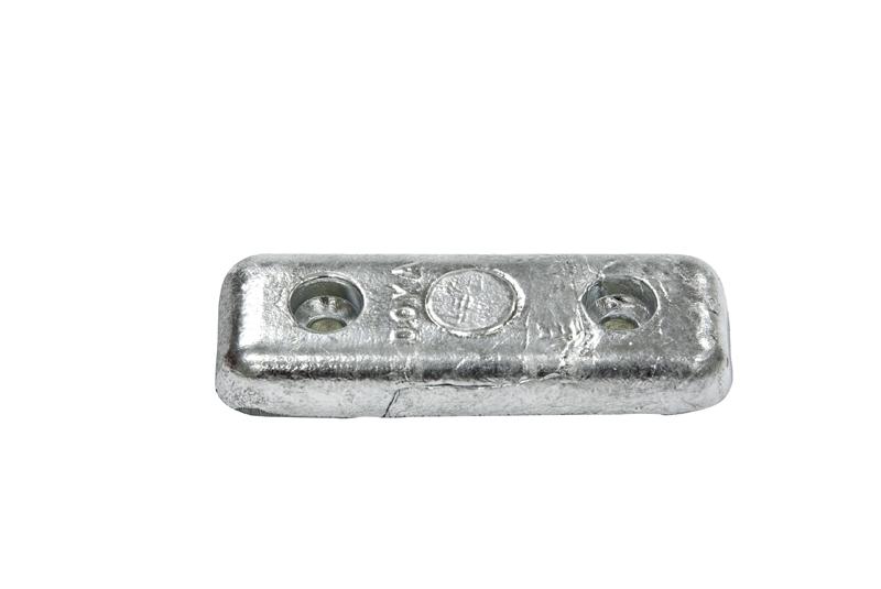 New B /& S Anodes Zinc Weld On 1-1//4 X 6 X 12 Bsm Bsmwo114X6X12