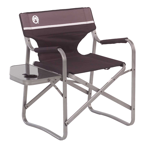 Coleman Folding Deck Chair W Table Coleman 2000020293