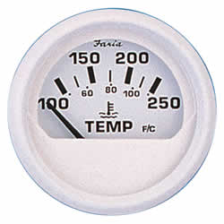 Faria 13110 Water Temperature Gauge