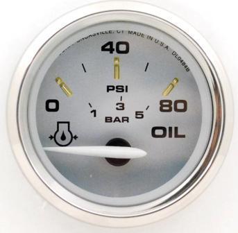 Faria 19002 Kronos /Öldruckpr/üfer 5,1 cm 80 PSI