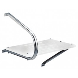 Garelick 19530 outboard swim platform garelick 19530 for Garelick outboard motor stand