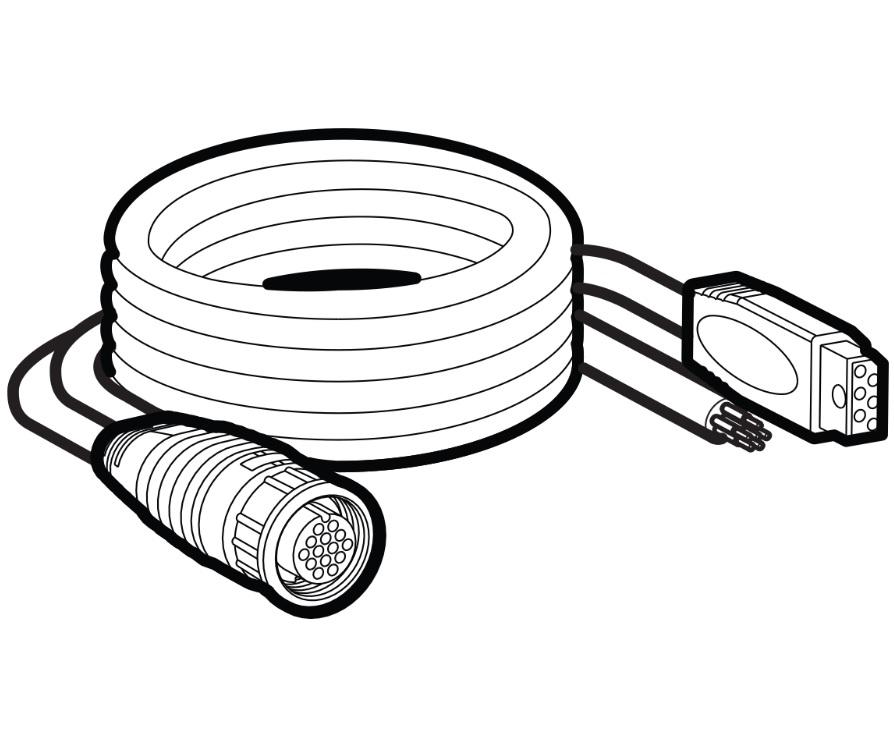 Humminbird AS-GPS-NMEA Adapter Cable - Humminbird 720080-1