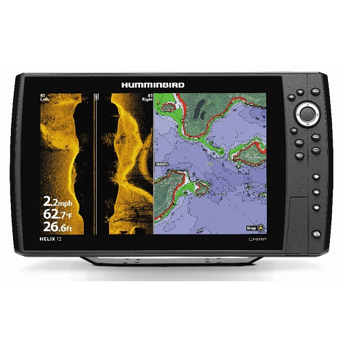 "humminbird helix 12 12"" chirp si side imaging sonar gps, Fish Finder"