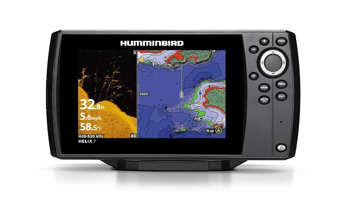 Humminbird helix7 chirp di sonar gps g2n humminbird for Humminbird 410210 1 helix 5 chirp gps g2 fish finder