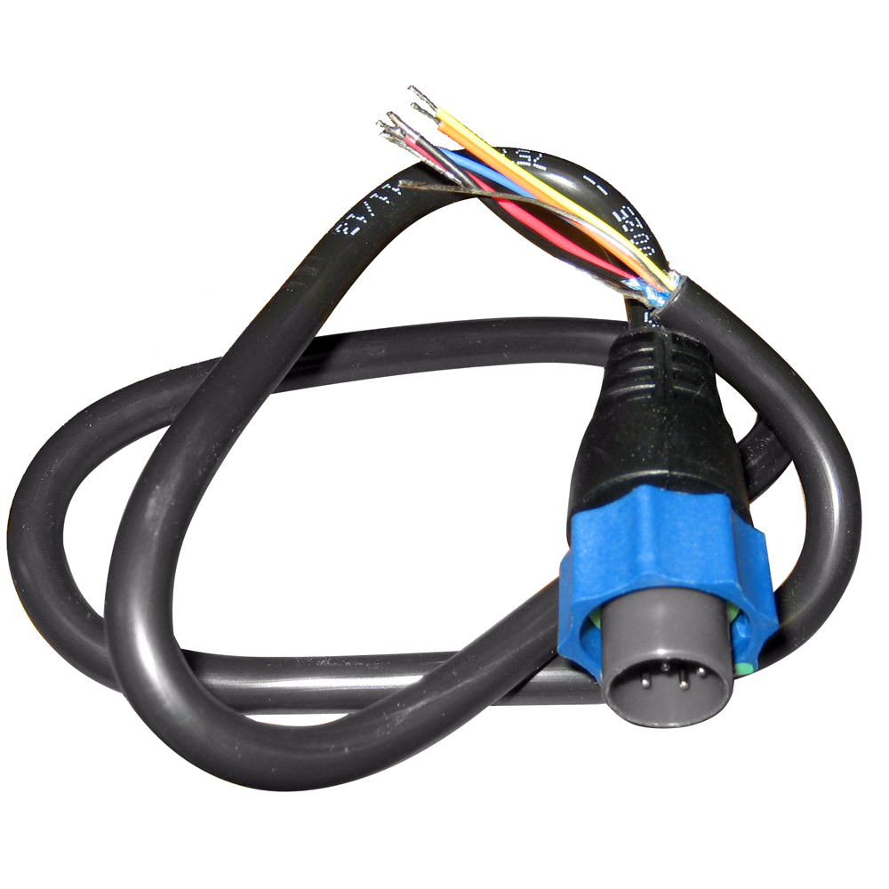 Lowrance 000 10046 001 Pigtail Bare Wires To Blue
