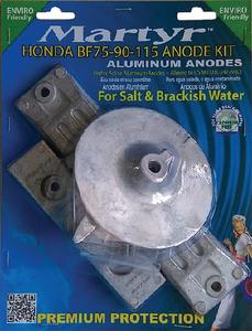 NOS SEACHOICE 95131 MERCURY VERADO 6 ANODE /& TRIM TAB KIT