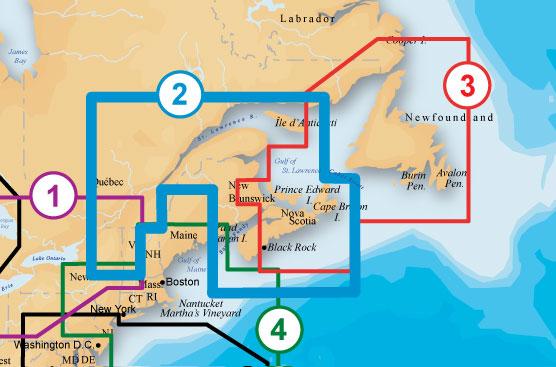 Navionics 902P-2 Platinum Nova Scotia-ST Lawrence River