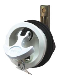 Perko T-Handle Flush Lock//Latch 1091DP1BLK locking