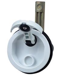 Perko Marine Flush Latch with Offset Cam Bar 0932DP1BLK
