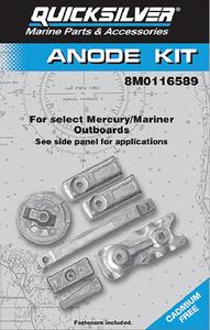 Yamaha 150Hp Anode Kit Aluminum Seachoice 95201