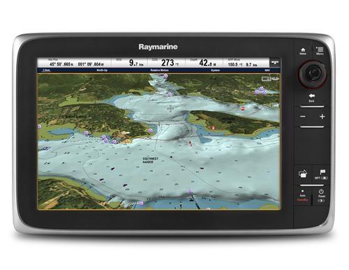 Raymarine C125 12 Multifunction Display with CMAP Essentials US