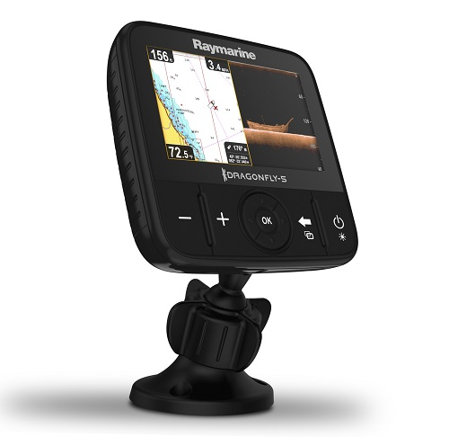 raymarine dragonfly 5 pro dual channel chirp sonar / gps combo, Fish Finder