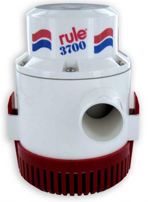rule 3700 non automatic bilge pump 24v rule industries. Black Bedroom Furniture Sets. Home Design Ideas