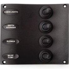 seadog 4246041 4 way toggle switch panel